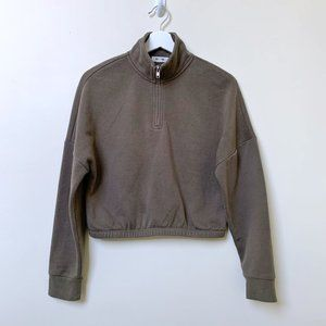 3/$30 Garage Quarter Zip Sweatshirt